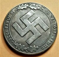 WW2 GERMANY COMMEMORATIVE COLLECTORS COIN REICHSMARK '39
