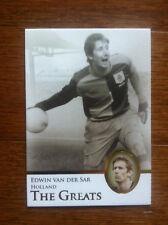 2013 Futera Greats Unique Soccer Card- Holland VAN DER SAAR Mint