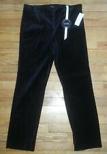 2530p NWT $55 Sz 12 35x30 Black CHARTER CLUB Classic Fit Velvety Soft Pants!