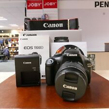 Used Canon EOS 1100D + 18-55mm 3.5-5.6 III (1708 actuations) - 1 YEAR GTEE