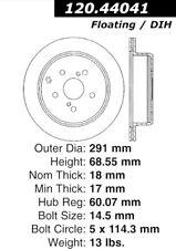 Disc Brake Rotor fits 1986-1997 Toyota Previa Supra  STOPTECH