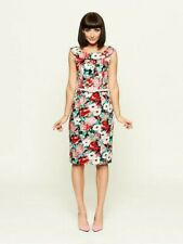REVIEW LUXEMBOURG FLORAL PENCIL DRESS SIZE 14