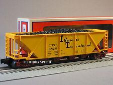 LIONEL ILLINOIS TERMINAL QUAD HOPPER COAL CAR 6-81029 c & nw o gauge 6-81669 NEW