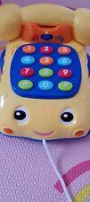 Spielzeug Telefon m. Musik u. Sprache/sehr guter Zustand/ zum Lernen der Zahlen