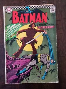 BATMAN #189 1967 1ST SILVER AGE APP OF THE SCARECROW!!!