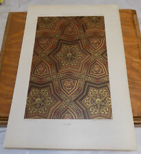 1873 Large COLOR Print///SOLID ART DESIGN, FRENCH///b