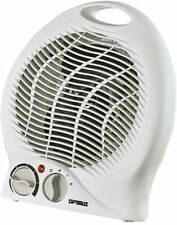 Optimus Portable Fan Heater with Thermostat 2 Heat Settings (750 and 1500 Watts)