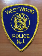 PATCH POLICE WESTWOOD NEW JERSEY NJ STATE