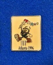 Rare ~ Mexico Made Version Atlanta 1996 Olympic Mascot Izzy Marching Lapel Pin
