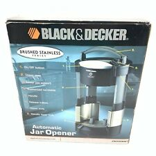 Black & Decker Lids Off Automatic Jar Opener JW200BMT Brushed Stainless #6373