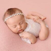 Infant Newborn Lace Romper Girl Photo Photography Prop Outfit Baby Clothes