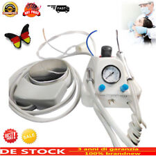 Turbina da laboratorio dentale portatile + siringa a 3 vie + manipolo per 4H DHL