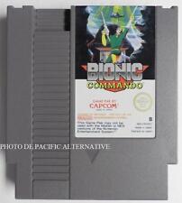 jeu BIONIC COMMANDO sur nintendo NES -CM-EEC game spiel juego gioco capcom TBE