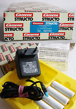 RARE VINTAGE 80'S CARRERA STRUCTO SLOT CAR CHARGER 98705 NEW MIB