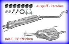 Abgasanlage Auspuff Opel Astra G 1.6i 8V & 1.6i 16V Caravan Typ T98 (F35_) + Kit