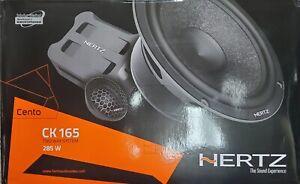 """Hertz Cento CK165 6.5"""" Kit 2 way speaker"""