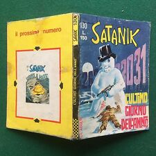SATANIK n.130/1969 L'ULTIMO GIORNO DELL'ANNO Ed Corno ORIGINALE Fumetto MAGNUS