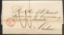 NEDERLAND; vouwbrief van AMSTERDAM naar ARNHEM 14 MEI 1867