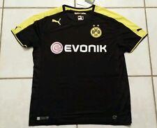 NWT PUMA Borussia Dortmund BVB Soccer BLACK Jersey  Men's XL
