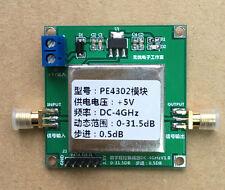 Pe4302 Digital Rf Attenuator Module High Linearity 0.5dB Step 1Mhz-4Ghz