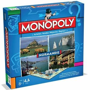 MONOPOLY NORMANDIE hasbro winning moves 0172 pas cher