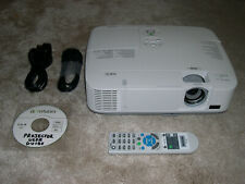 NEC NP-M260W LCD HDMI Projector WXGA Data/Computer/Video/HD. Serviced, 94% Lamp
