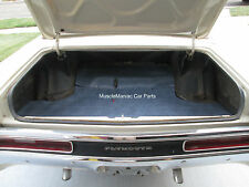 1971-1973 Plymouth Fury, Sport Fury HT RUBBER TRUNK MAT Herring Pattern 71 72 73