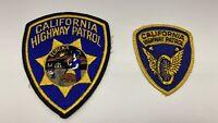 California Highway Patrol Shoulder Patch 2 Types