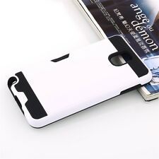 Shockproof Brushed Hybrid Hard Card Case Cover for Samsung galaxy Note 3 N9000