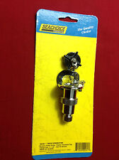 DECK CONNECTOR CHROME PLATED BRASS FLANGE WATER TIGHT MARINE POWER BOAT 10161