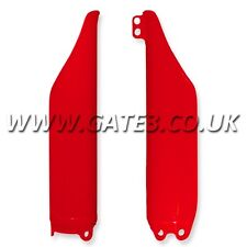 Honda Cr250 Cr 250 2004-2007 Rojo Frontal Inferior Horquilla guardias Motocross Mx Plásticos