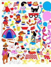 Mrs Grossmans Kids Party Sticker Sheet 10x8 Inch Bn1998