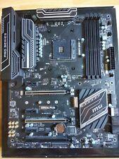 MSI X370 SLI PLUS ATX AM4 motherboard RYZEN 3000 READY