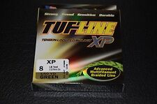TUF-Line XP Green 8 lb Test 150 yards Multifilament Braid Fishing Line XP8-150GN