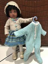 Kish Doll Riley's Friend Mowgli African American In Kish Outfit With Pjs 7.5�