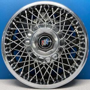 "ONE 1982-1985 Buick Skyhawk # 1107 13"" Wire Hubcap / Wheel Cover GM # 25524318"