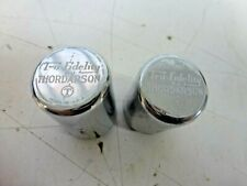2 Thordarson Vintage Tru-Fidelity T-6A3 & T-5A8 Chrome Audio Transformers !