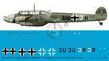 Peddinghaus 1/72 Bf 110 C-4 Markings Ernst Matthes 7./ZG 26 Cherbourg 1940 3335