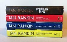 Lot 4 Ian Rankin Books (HC) Rebus Novel_Resurrection Men Impossible Dead, Saints