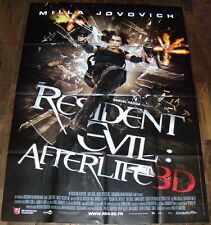 RESiDENT EViL AFTERLiFE  Milla Jovovich Paul W.S. Anderson LARGE French POSTER