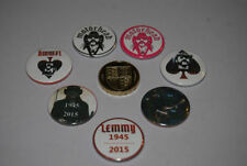 Motorhead Badges/Pins Rock Music Memorabilia