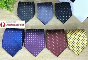 Men's TIES Dotted/Foulard, Skinny 8-CM, Formal Office,Wedding,Casual,Hi QUALITY