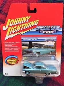 "1962 Chevrolet Bel Air green JOHNNY LIGHTNING ""Muscle Cars USA"" 1/64 (MIB)"