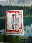 Collectible Budweiser Plating Cards Plastic Coated The U.S. Playing Card Company