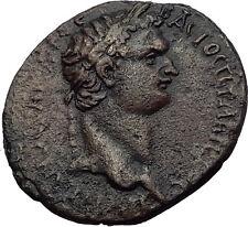 DOMITIAN 81AD CARIA. Antiochia ad Maeandrum. Ancient Roman Coin DIONYSUS i63288