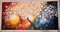 Olio Su Tela - Tela Dipinto a mano - 150 x 80 cm