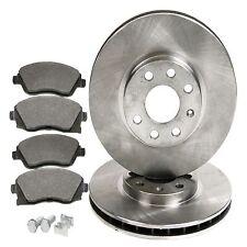 Front Brake Kit Discs & Pads - Vauxhall Tigra, Meriva Corsa
