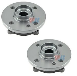 Pair Set of 2 Front WJB Wheel Bearing and Hub Assies Kit for Mini Cooper 07-15