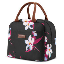 LOKASS Lunch Bag Women Tote Bag Waterproof Cooler Insulated Thermal Lunch Box