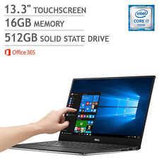 "Dell XPS9350-8009slv 13"" Touchscreen i7-6560u 16GB RAM 512GB SSD  Quad HD+"
